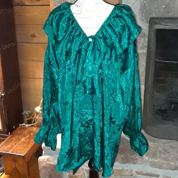 Gorgeous vintage Victoria's Secret poet gown